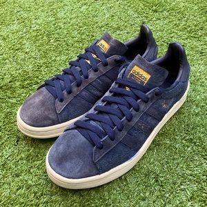 Adidas Campus blue sneakers shoes Men US7